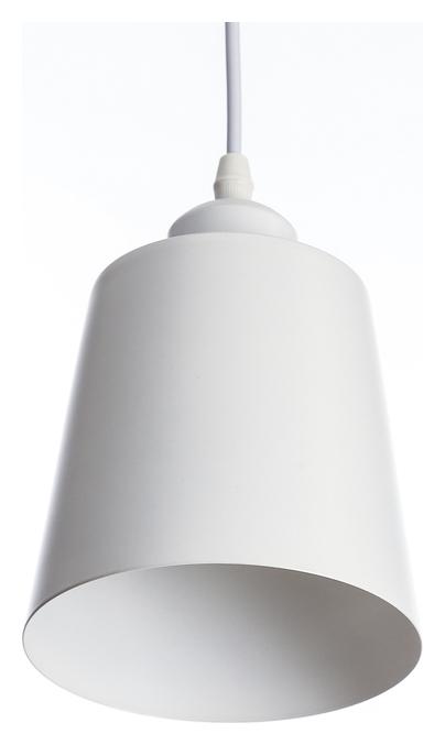 "Светильник подвесной ""Цилиндр"" 1x40вт E27 белый 13х13х16-96 см  BayerLux"