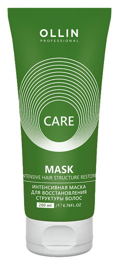 Интенсивная маска для восстановления структуры волос OLLIN Professional Care