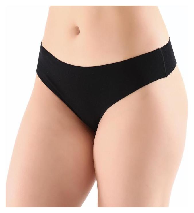 Трусы женские стринги, цвет чёрный, размер 46-48 (XL)  Miss Beautiful