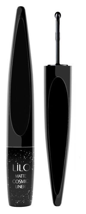 Подводка для глаз жидкая матовая Matte Cosmic Черная LiLo