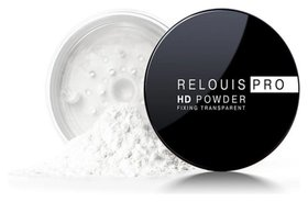 Пудра для лица прозрачная фиксирующая Hd Universal Powder Pro Relouis