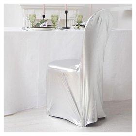 Чехол на стул, цв.серебро, 90*40*40 см, 100% п/э  NNB
