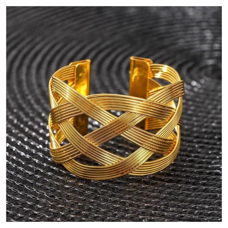 Кольцо для салфетки «Сфера», цвет золото  NNB