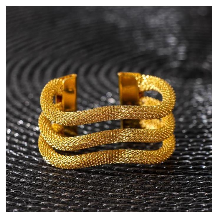 Кольцо для салфетки «Трипл», цвет золото  NNB