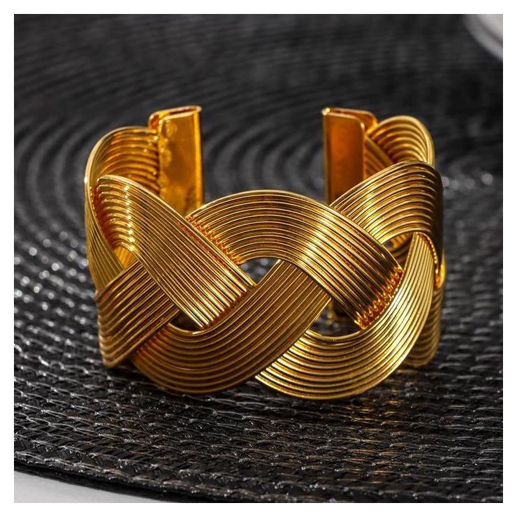 Кольцо для салфетки «Лира», цвет золото  NNB