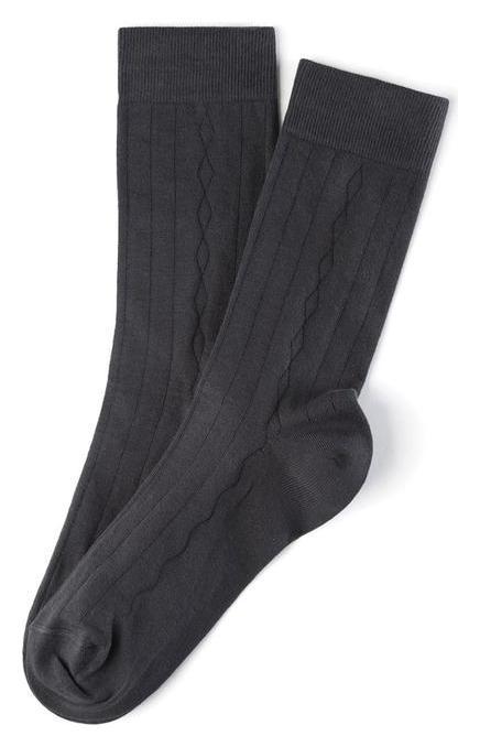 Носки мужские, цвет тёмно-серый, размер 2 (40-41)  Incanto