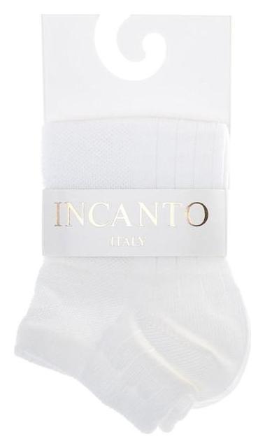 Носки женские Incanto, цвет белый (Bianco), размер 3 (39-40)  Incanto