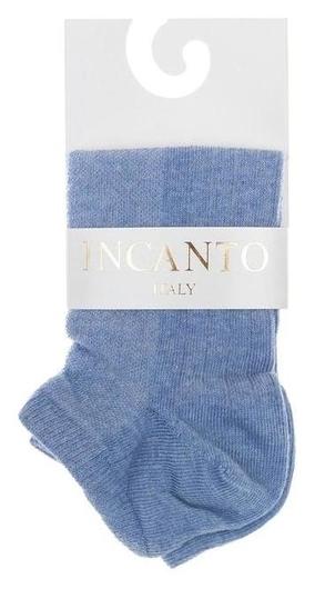 Носки женские Incanto, цвет голубой (Azzurro), размер 2 (36-38)  Incanto