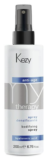 Спрей для придания густоты с гиалуроновой кислотой Anti-age spray Kezy My terapy