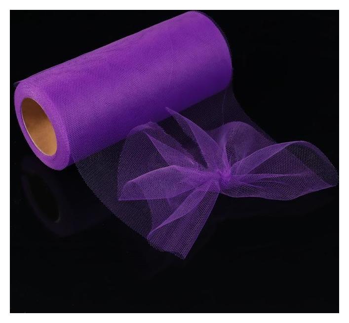 Фатин, 15 см, 11 ± 1 г/кв.м, 23 ± 1 м, цвет фиолетовый №12 NNB