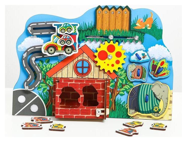 Бизиборд «Большой-маленький»  Сибирские игрушки