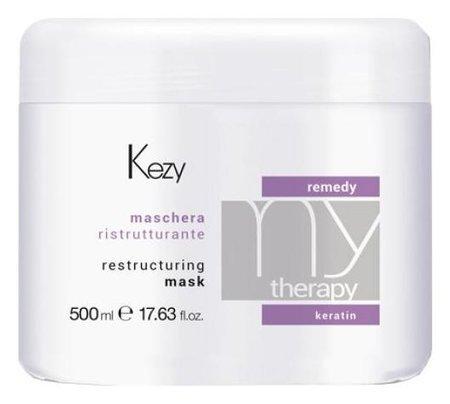 """Восстанавливающая маска с кератином """"Remedy mask""""  Kezy"""