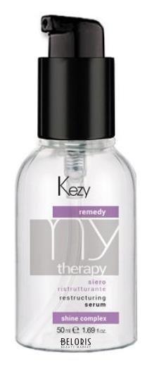 Купить Флюид для волос Kezy, Сыворотка восстанавливающая с кератином Remedy serum , Италия