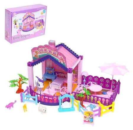 Дом для кукол, с аксессуарами  NNB