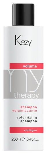 Шампунь для придания объема с морским коллагеном Volume shampoo Kezy My terapy