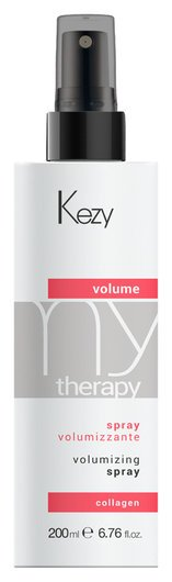 "Спрей для придания объема с морским коллагеном ""Volume spray""  Kezy"