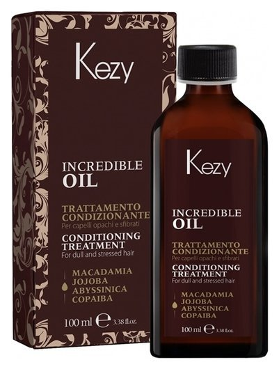 Масло для волос «Incredible oil» Kezy One Beauty