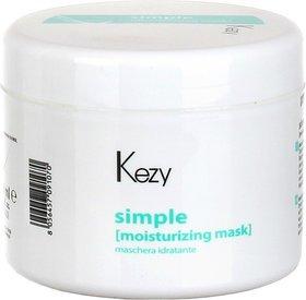 """Маска увлажняющая для всех типов волос """"Moisturising mask""""  Kezy"""