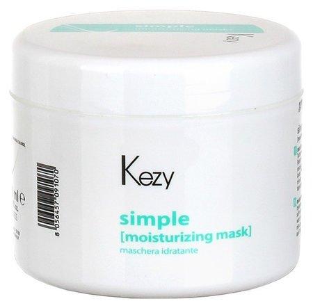 Маска увлажняющая для всех типов волос Moisturising mask Kezy Simple
