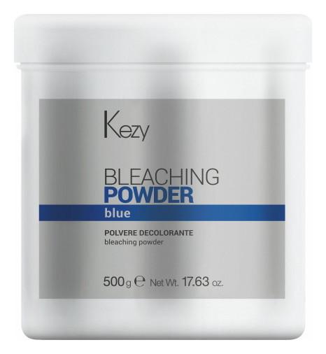 Голубой обесцвечивающий порошок Bleaching powder blue Kezy