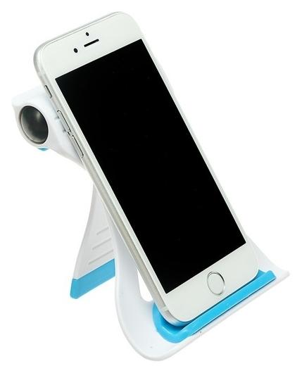 Подставка для телефона Luazon, складная, усиленная, регулируемая высота, синяя  LuazON