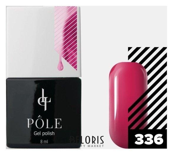 Купить Лак для ногтей POLE, Цветной гель-лак POLE , Россия, №336 - арбузный сироп