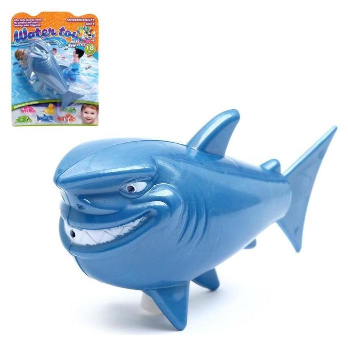 Игрушка заводная водоплавающая Акула NNB