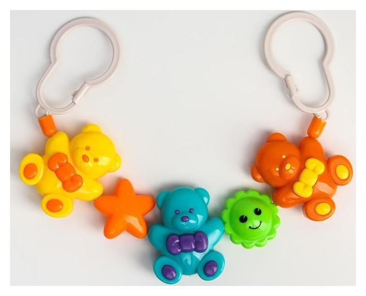 Растяжка на коляску/кроватку «Мишки», 3 игрушки  Крошка Я