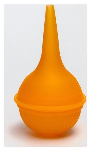 Аспиратор назальный силиконовый, цвет оранжевый  Крошка Я