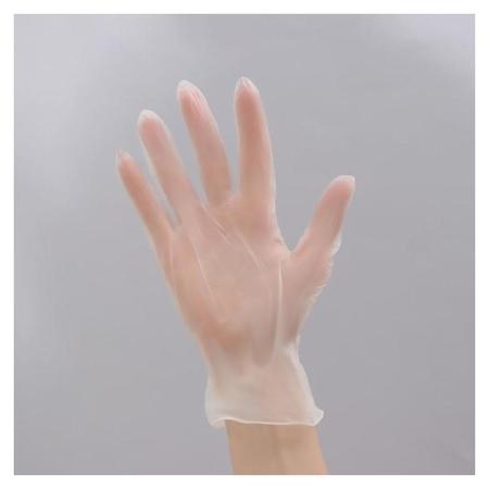 Перчатки хозяйственные виниловые доляна, размер XL, 10 шт/уп  Доляна