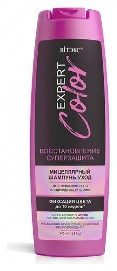 Мицеллярный шампунь - уход для окрашенных и поврежденных волос  Белита - Витекс