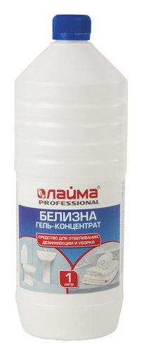 """Средство для отбеливания, дезинфекции и уборки """"Лайма Professional. белизна-гель"""", 1 литр  Лайма"""