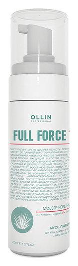 Мусс-пилинг для волос и кожи головы с экстрактом алоэ  OLLIN Professional