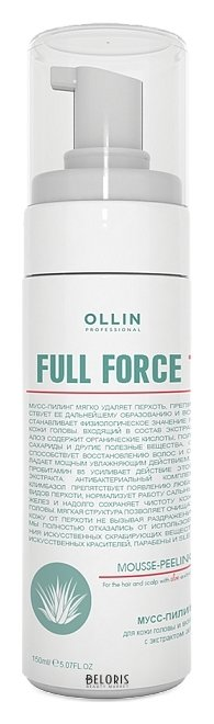 Купить Пилинг для кожи головы OLLIN, Мусс-пилинг для волос и кожи головы с экстрактом алоэ, Россия