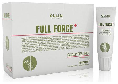 Пилинг для кожи головы с экстрактом бамбука  OLLIN Professional