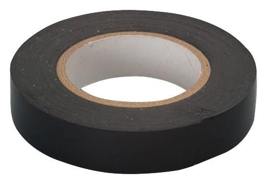 Изолента пвх, 19 мм, 20 м, черная  Сибртех