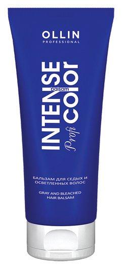 Бальзам для седых и осветленных волос  OLLIN Professional