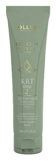 Купить Сыворотка для волос OLLIN, Сыворотка для моментального восстановления, Россия
