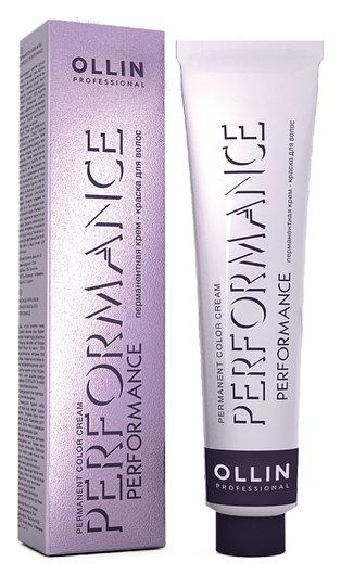 Перманентная крем-краска для волос   OLLIN Professional
