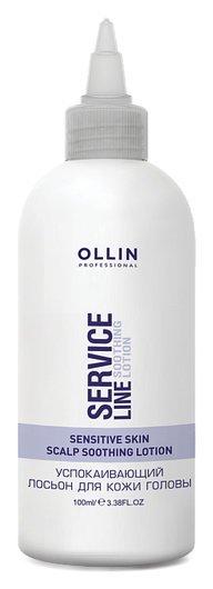 Успокаивающий лосьон для кожи головы  OLLIN Professional