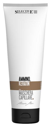 """Маска восстанавливающая для волос """"Ammino Keratin""""  Selective Professional"""