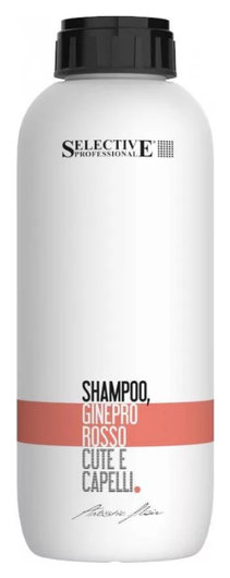 "Шампунь ""Красный можжевельник"" Shampoo Ginepro Rosso Cute E Capelli  Selective Professional"