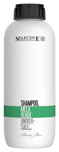 """Шампунь для всех типов волос """"Зелёное яблоко"""" Shampoo Mela Verde  Selective Professional"""