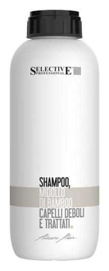 """Шампунь для химически обработанных волос """"Shampoo Midollo Di Bamboo""""  Selective Professional"""