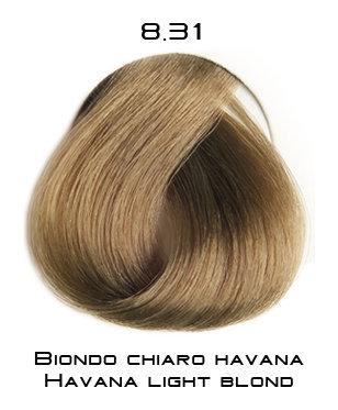 Тон 8.31 Светлый блондин - гавана  Selective Professional
