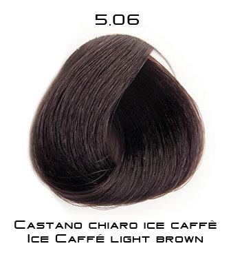Тон 5.06 Светло-каштановый - холодный кофе  Selective Professional