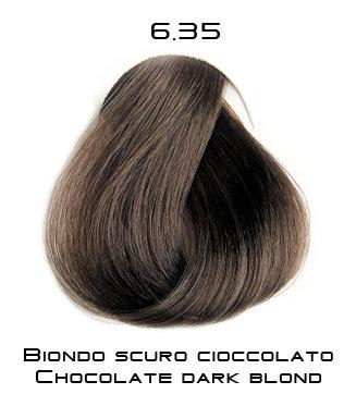 Тон 6.35 Темный блондин - шоколад  Selective Professional