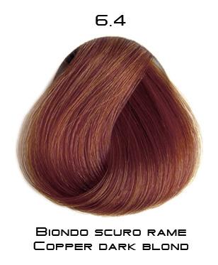 Тон 6.4 Темный блондин медный  Selective Professional
