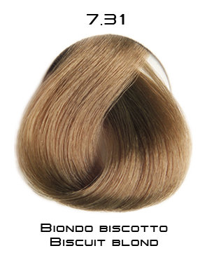 Тон 7.31 Блондин - бисквит  Selective Professional