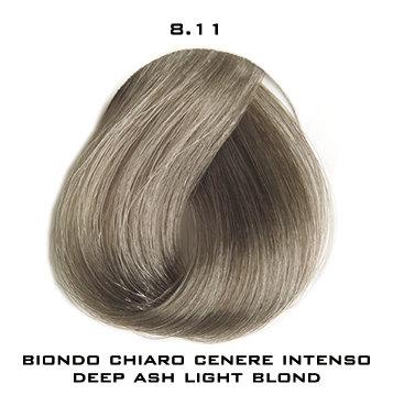 Тон 8.11 Светлый блондин пепельный интенсивный  Selective Professional